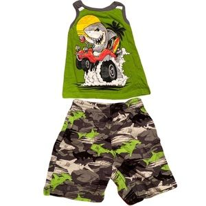 Boysshark outfit size 3T